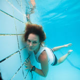 Underwater in a pool Stock Photos