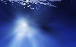 Underwater profondo illustrazione di stock