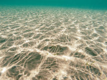Underwater reflections Royalty Free Stock Photo