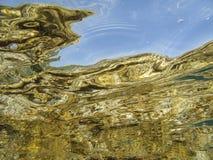 Underwater reflections Stock Photos