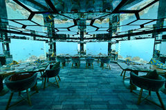 Underwater Restaurant Royalty Free Stock Images