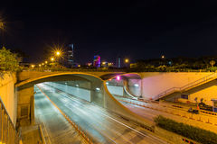 An underwater Saigon River Tunnel at Ho Chi Minh City, Vietnam Royalty Free Stock Image