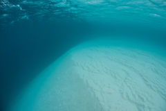 Underwater Sand Bank Royalty Free Stock Image