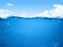 Underwater scene Stock Images