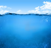 Underwater scene Royalty Free Stock Photos