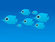Underwater scene Stock Photography