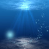 Underwater Scene Royalty Free Stock Images