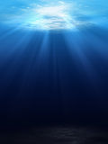 Underwater scene background Royalty Free Stock Images