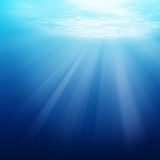 Underwater scene background Royalty Free Stock Image