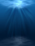 Underwater Scene (blank) Royalty Free Stock Photos