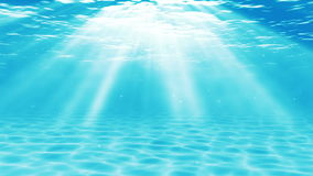 Underwater scene. Summer travel background. stock video
