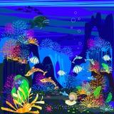 Underwater scenery Royalty Free Stock Photo