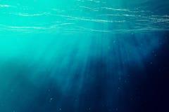 Free Underwater Sea, Ocean With Light Rays. 3d Illustration Stock Photos - 74682093