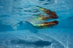 Underwater Shoot Royalty Free Stock Photo