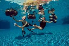 Underwater shoot Royalty Free Stock Image
