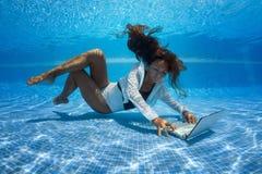 Underwater shoot royalty free stock photos