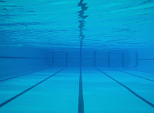 Underwater swimming pool Stock Photography