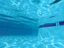 Underwater Swimming Pool Royalty Free Stock Images