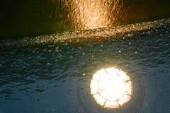 The underwater swimming pool lighting using lighting