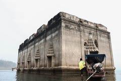 Underwater temple Stock Image