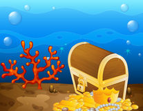 Underwater treasure Royalty Free Stock Photography