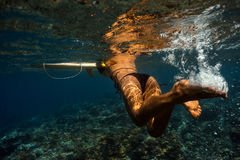 Underwater View Royalty Free Stock Photos