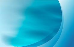 Underwater waves blue tones background. Illustration design royalty free illustration