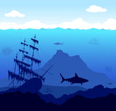 Underwater World Royalty Free Stock Image