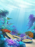 Underwater world Royalty Free Stock Photo