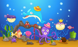 Underwater world Stock Images
