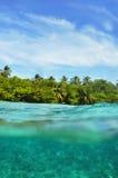 Underwater World Maldives Stock Photo