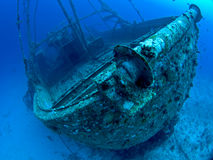 Underwater wreck Royalty Free Stock Photo