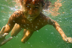 Underwater12 Immagine Stock