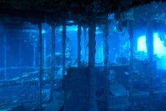 Underwaterworld/naufragio KT12 Fotografie Stock Libere da Diritti