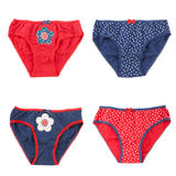 Underwear clothes set for baby girl Royalty Free Stock Images