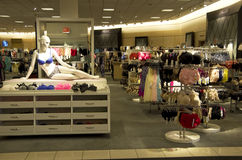 Underwear department store Royalty Free Stock Photography