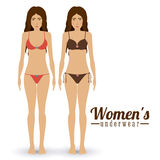Underwear design Royalty Free Stock Photography