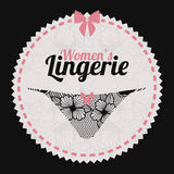 Underwear design Royalty Free Stock Photos