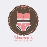 Underwear design Stock Images