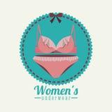 Underwear design Royalty Free Stock Image