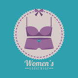 Underwear design Royalty Free Stock Images