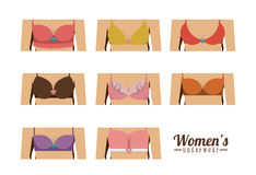 Underwear design Royalty Free Stock Photo