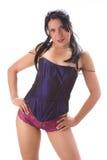 Underwear girl Stock Images