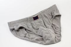 Underwear. Male underwear on a white background Royalty Free Stock Photography