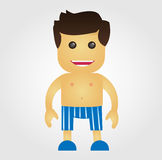 Underwear Man Stock Photography