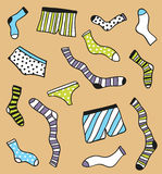 Underwear pattern Royalty Free Stock Photography