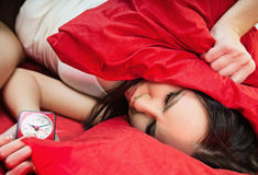 Undesirable wake up Royalty Free Stock Photography