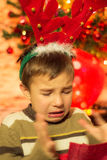 Undesired Christmas gift Royalty Free Stock Photos