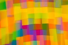 Undeutliche Farbe blockiert Hintergrund Stockbilder
