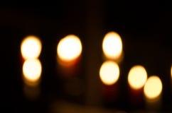 Undeutliche Leuchten Stockfotos